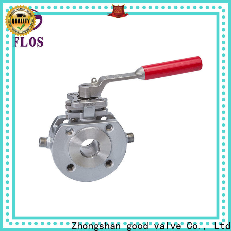 FLOS carbon uni-body ball valve Suppliers for closing piping flow