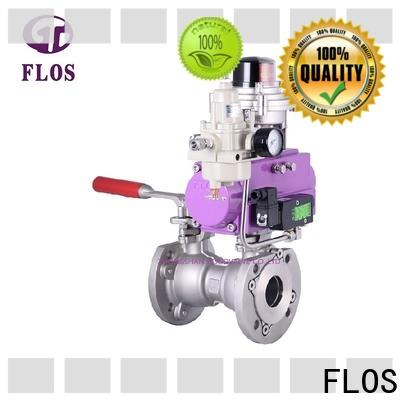 FLOS carbon 1 piece ball valve Suppliers for closing piping flow