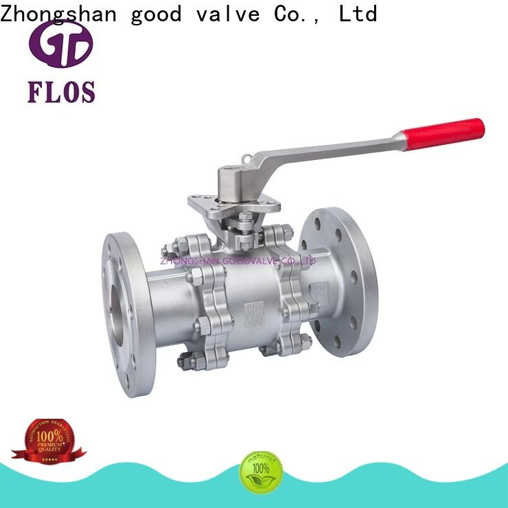 FLOS pneumatic 3 piece stainless steel ball valve Suppliers for opening piping flow