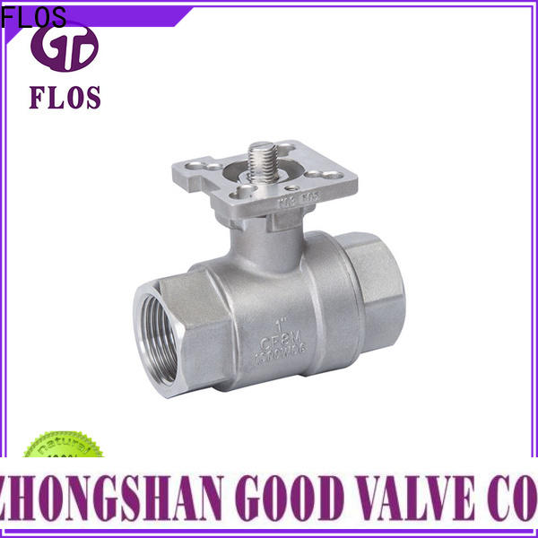 FLOS Wholesale 2-piece ball valve company for directing flow