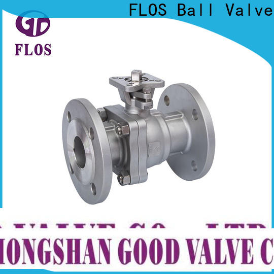 FLOS Top two piece ball valve Suppliers for opening piping flow
