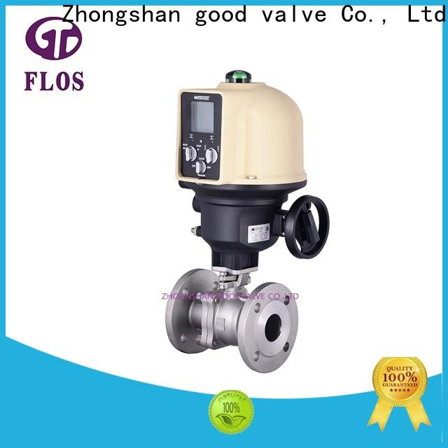 Wholesale two piece ball valve flanged company for opening piping flow