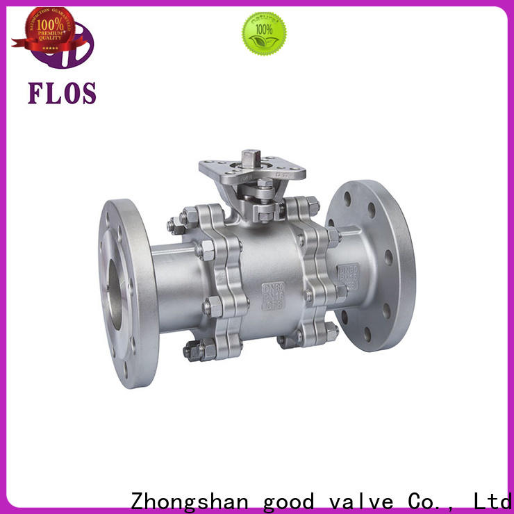 Top three piece ball valve switchflanged Supply for directing flow