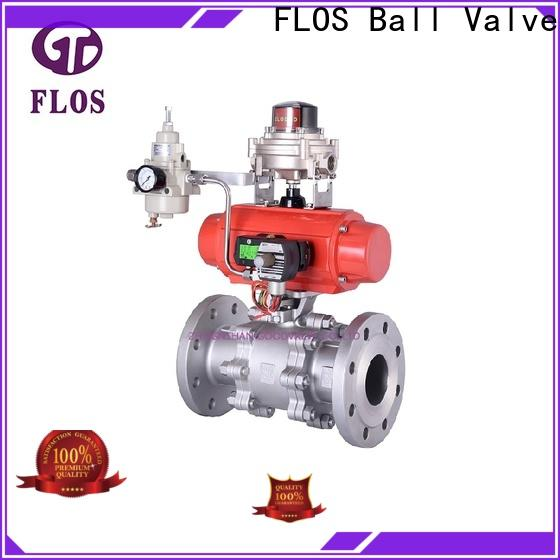 FLOS switchflanged stainless valve for business for closing piping flow