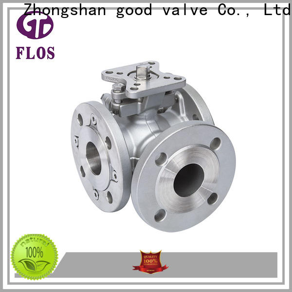 FLOS Top multi-way valve factory for closing piping flow