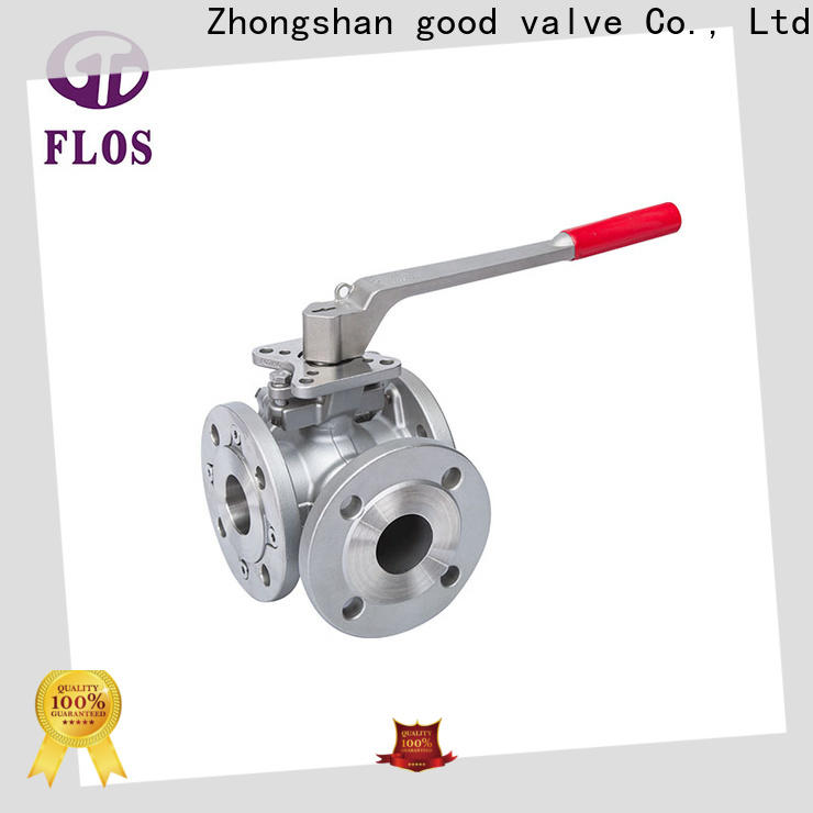 New flanged end ball valve flanged Suppliers for opening piping flow