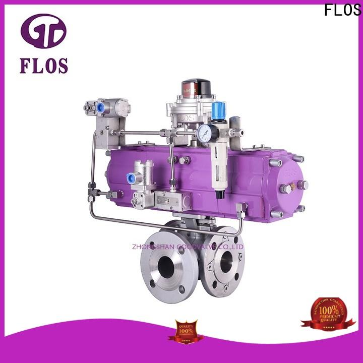 FLOS Latest three way valve for business for closing piping flow