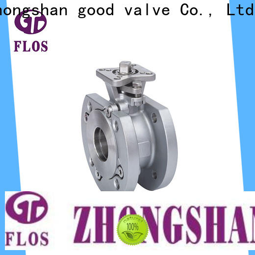 FLOS manual uni-body ball valve factory for closing piping flow