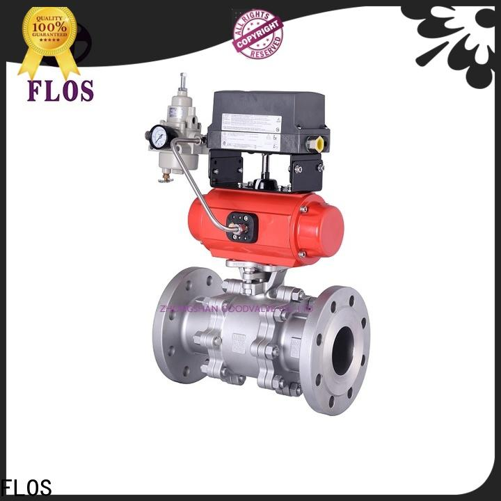 FLOS Best 3 piece stainless ball valve Supply for opening piping flow