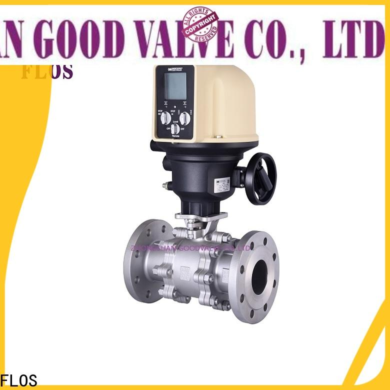 FLOS Wholesale stainless valve Supply for opening piping flow