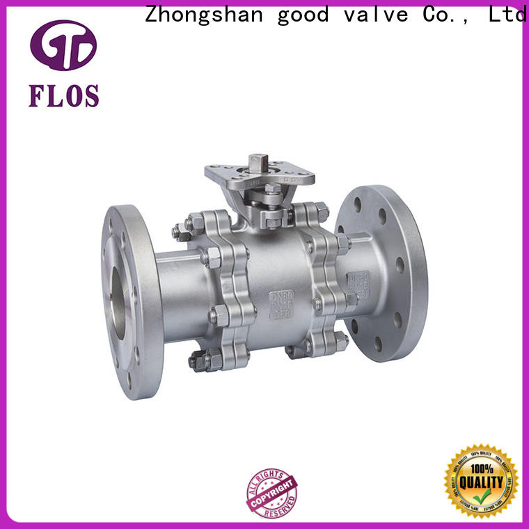 FLOS position 3 piece stainless steel ball valve manufacturers for directing flow