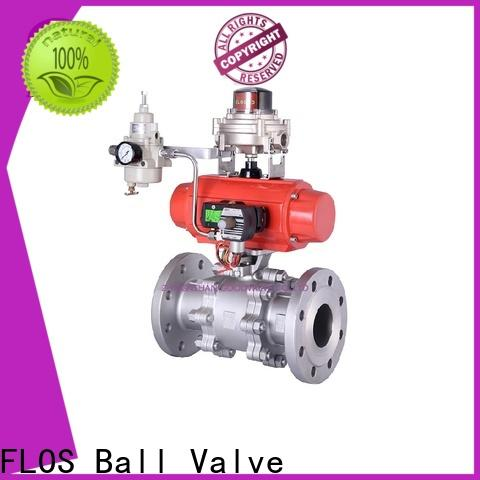 Latest 3 piece stainless ball valve ends factory for closing piping flow
