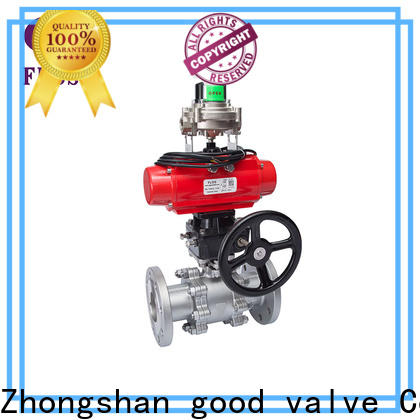Best stainless valve flanged Supply for closing piping flow