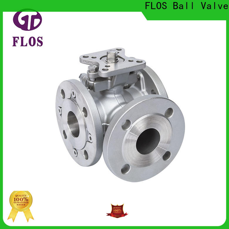FLOS Wholesale three way ball valve company for opening piping flow
