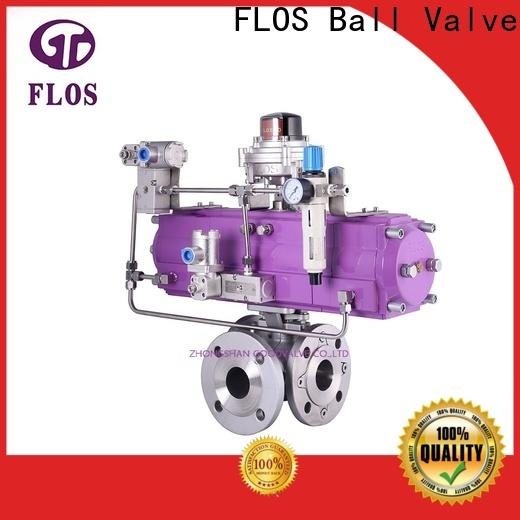 FLOS Best three way ball valve Suppliers for opening piping flow