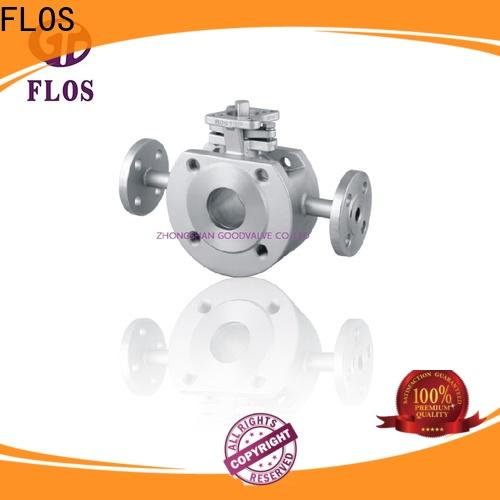 FLOS New 1 piece ball valve factory for closing piping flow