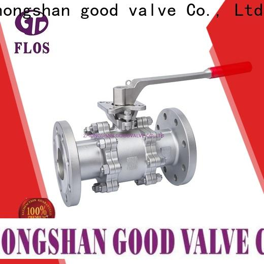 FLOS pneumaticworm 3 piece stainless ball valve factory for opening piping flow