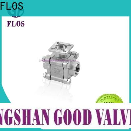 FLOS pc three piece ball valve company for directing flow