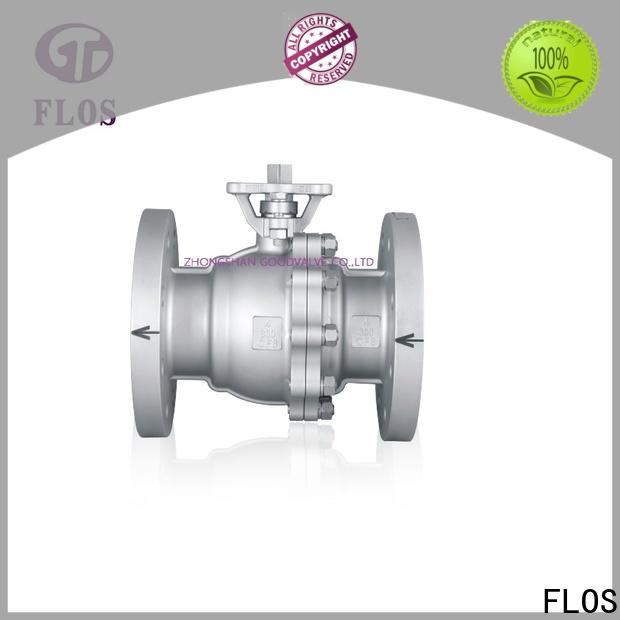 FLOS Best 2 piece stainless steel ball valve factory for closing piping flow