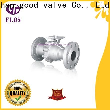 FLOS positionerflanged ball valve manufacturers manufacturers for closing piping flow