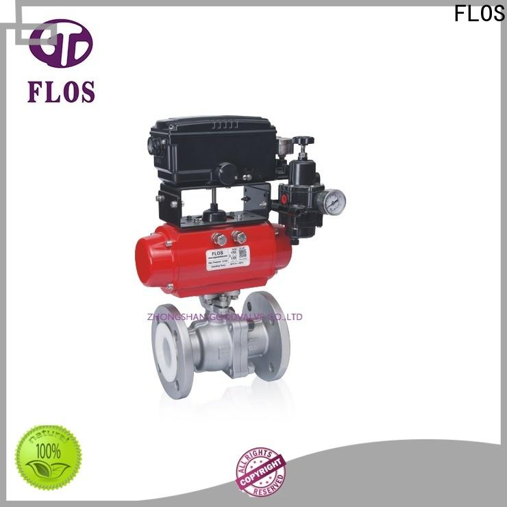 Latest stainless steel valve pneumatic company for closing piping flow