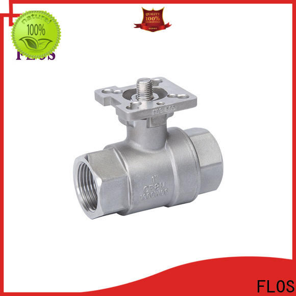 FLOS Top ball valve manufacturers manufacturers for closing piping flow