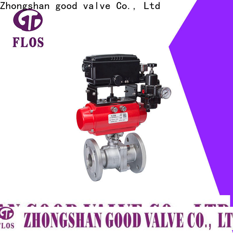 FLOS valveflanged stainless steel valve for business for opening piping flow