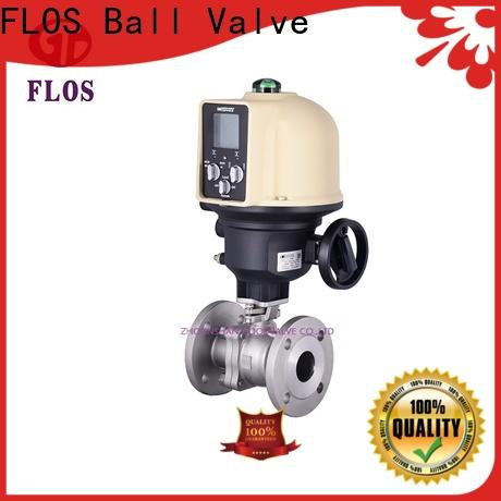 FLOS Top 2-piece ball valve factory for opening piping flow