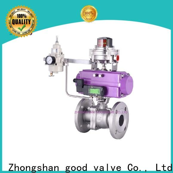 Top 2 piece stainless steel ball valve pneumaticworm factory for directing flow