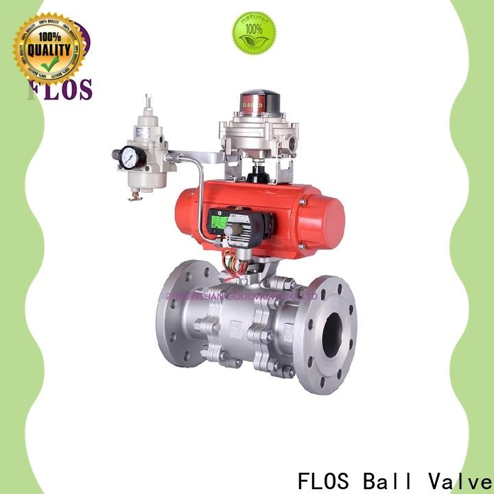 FLOS High-quality 3 piece stainless ball valve company for opening piping flow