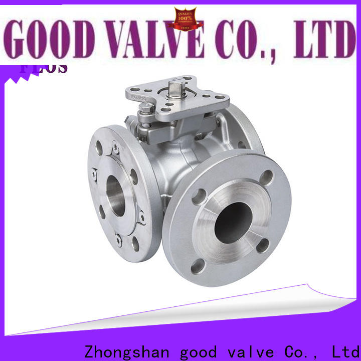 FLOS High-quality 3 way flanged ball valve factory for directing flow