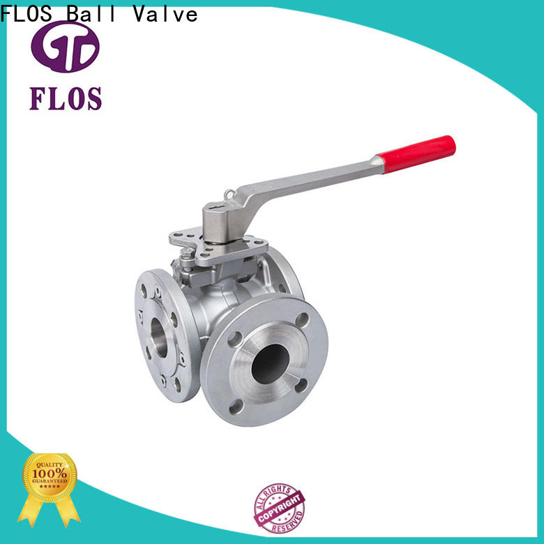 New 3 way valve manual Suppliers for opening piping flow