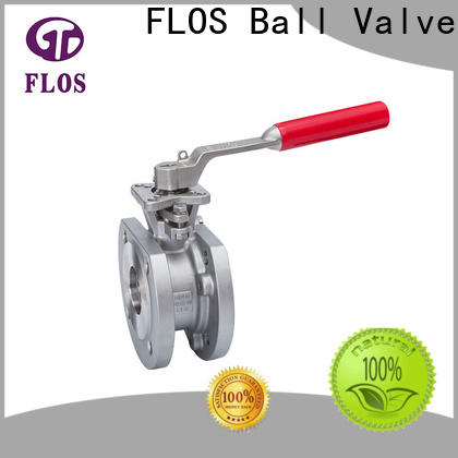 FLOS Wholesale uni-body ball valve Supply for closing piping flow