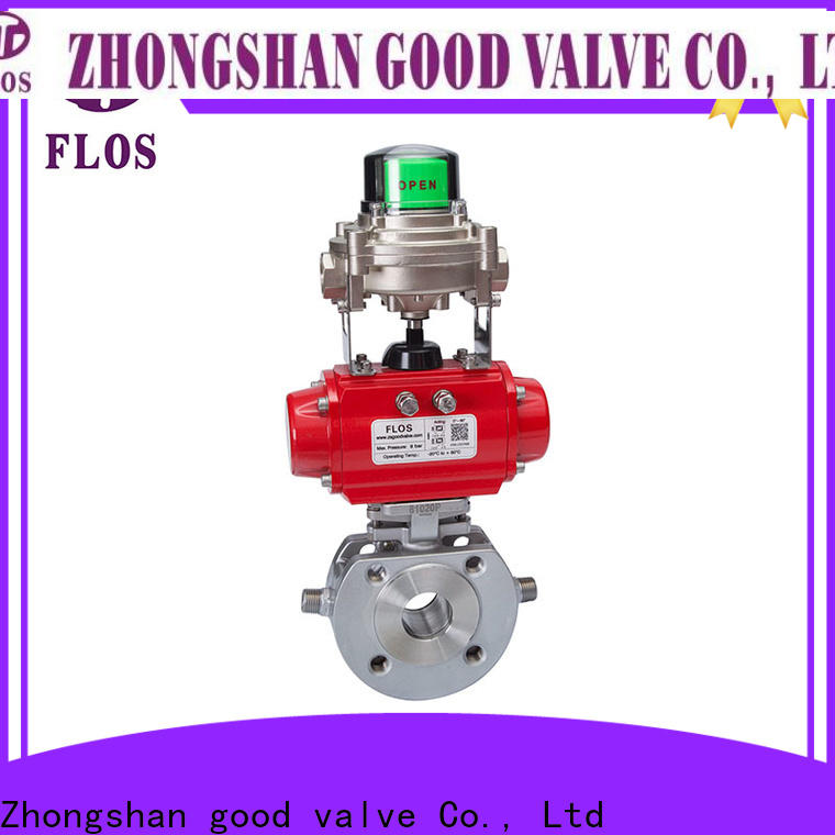 FLOS stainless 1 piece ball valve company for directing flow