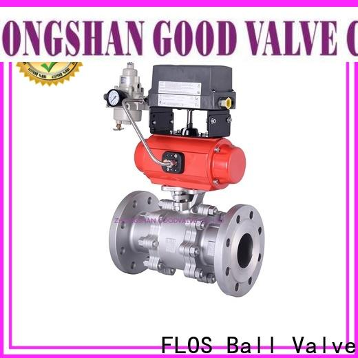 FLOS ends three piece ball valve manufacturers for closing piping flow