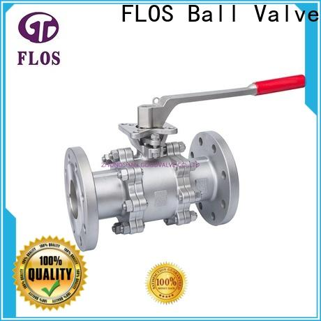 FLOS Latest 3 piece stainless steel ball valve company for directing flow