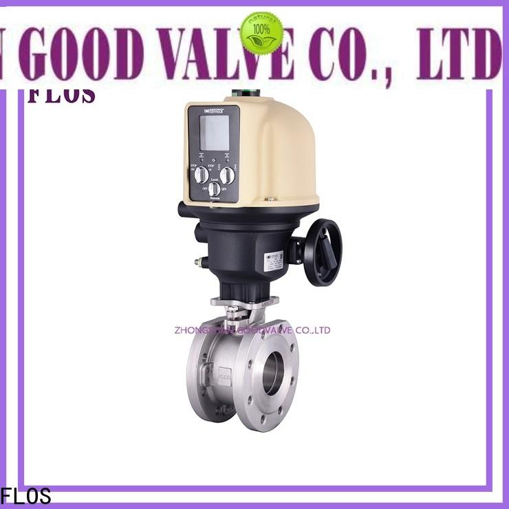 FLOS carbon flanged gate valve company for opening piping flow