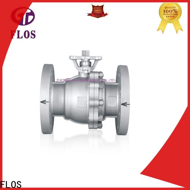 FLOS pneumaticworm 2-piece ball valve Supply for opening piping flow
