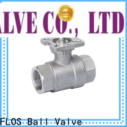 FLOS ends ball valve manufacturers Suppliers for closing piping flow