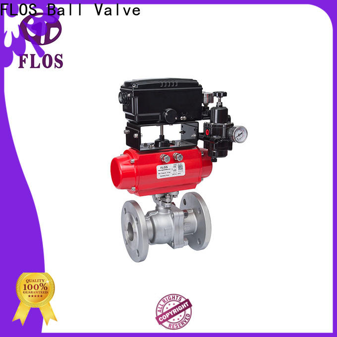 Top stainless ball valve flanged factory for opening piping flow