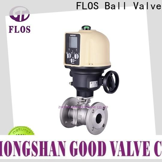 FLOS ball stainless steel ball valve factory for closing piping flow