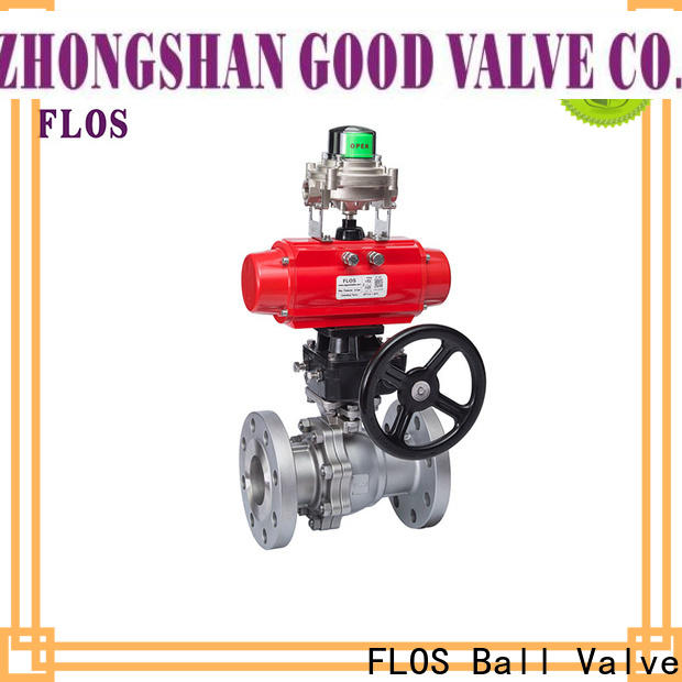 New stainless ball valve valveflanged Supply for directing flow