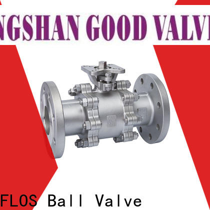 FLOS Best 3 piece stainless ball valve Supply for closing piping flow