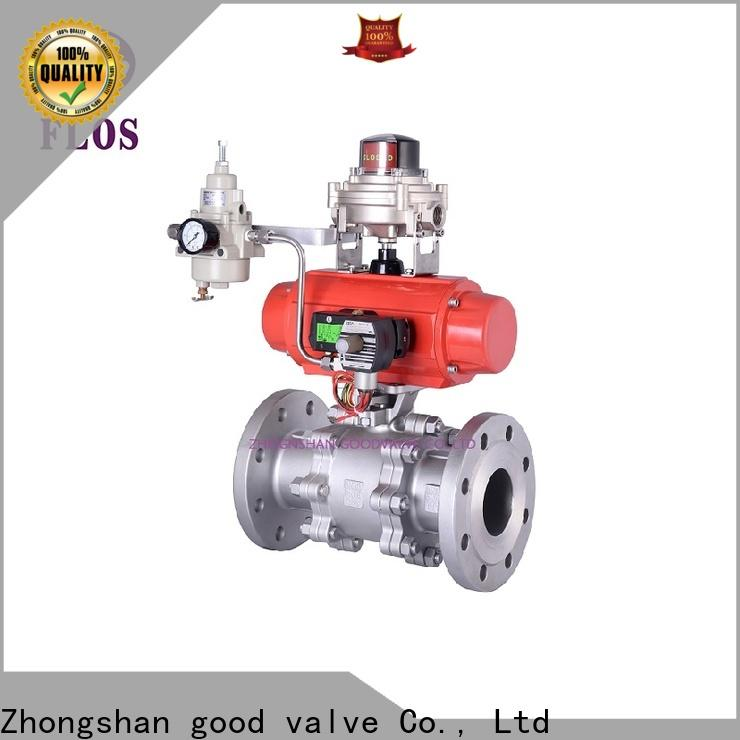 Best 3 piece stainless ball valve flanged for business for directing flow