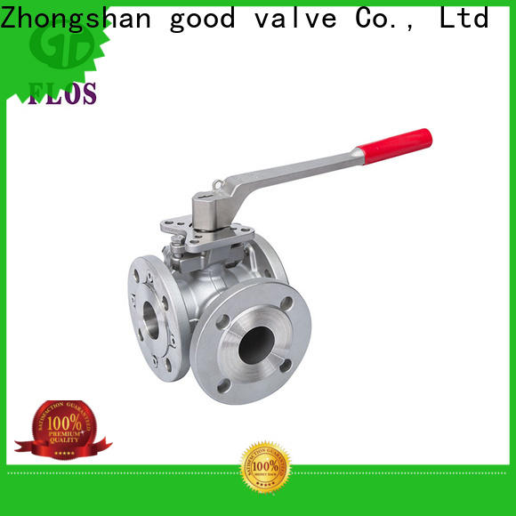 FLOS ball multi-way valve company for closing piping flow