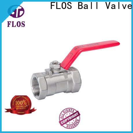 Top 1 pc ball valve valve Supply for opening piping flow