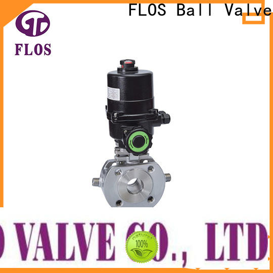 FLOS Top one piece ball valve manufacturers for directing flow