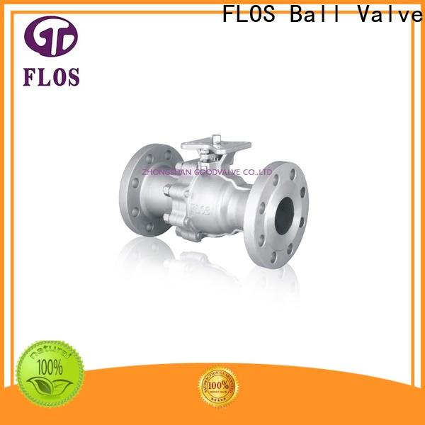 FLOS pneumatic ball valves company for opening piping flow