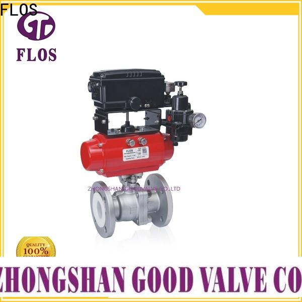 FLOS Latest 2 piece stainless steel ball valve company for closing piping flow