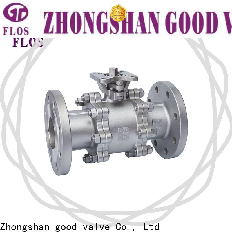 FLOS ball 3 piece stainless ball valve for business for opening piping flow
